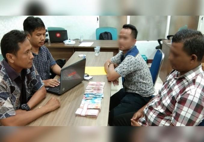 Oknum Lurah Sidomulyo Barat Mendekam di Rutan Polda Riau