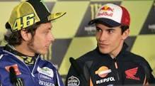 Marquez Enggan Pusingkan Persaingannya dengan Rossi