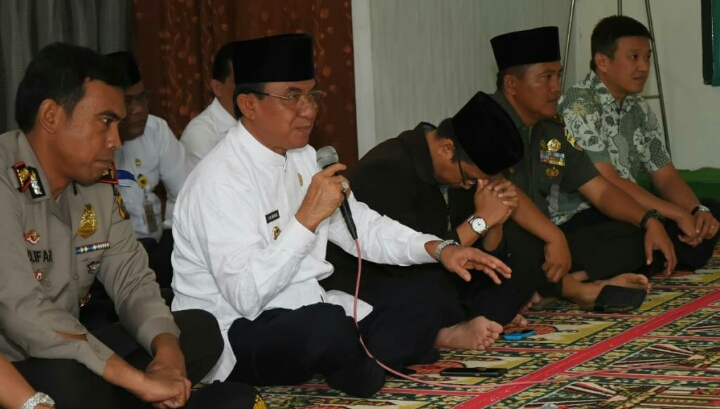 Bupati Inhil Hadiri Acara Doa Bersama Lintas Agama