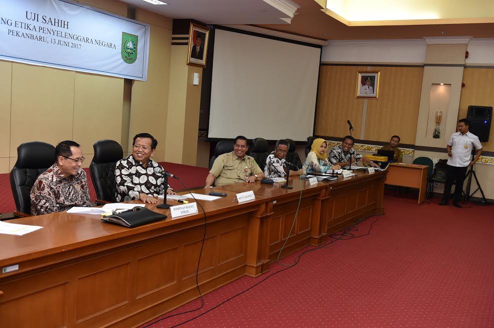 Komite I DPD RI Gelar Uji Sahih RUU Etika Penyelenggara Negara