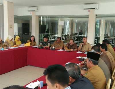 Bupati Suyatno Pimpin Langsung Rapat Persiapan HSP Tingkat Propinsi