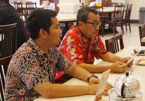 Ikatan Ahli Geologi Indonesia Bertemu Gebernur Riau Terpilih