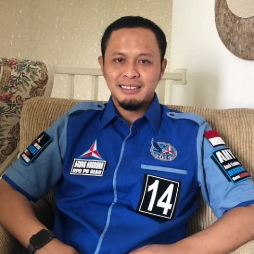 Menjadi Ketua DPC Partai Demokrat Kota Pekanbaru, Agung Nugroho Imbau Kader Kompak Menangkan Firdaus
