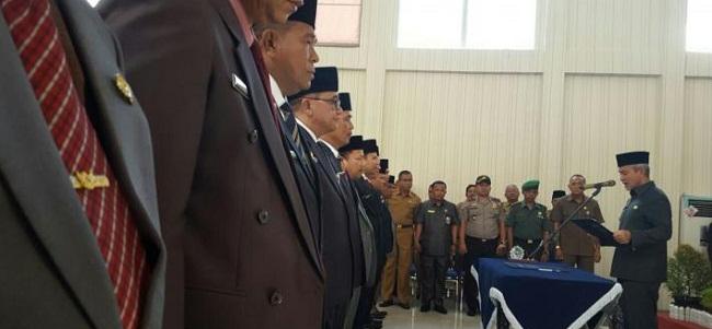 Wakil Bupati Meranti Lantik 11 Pejabat Eselon II