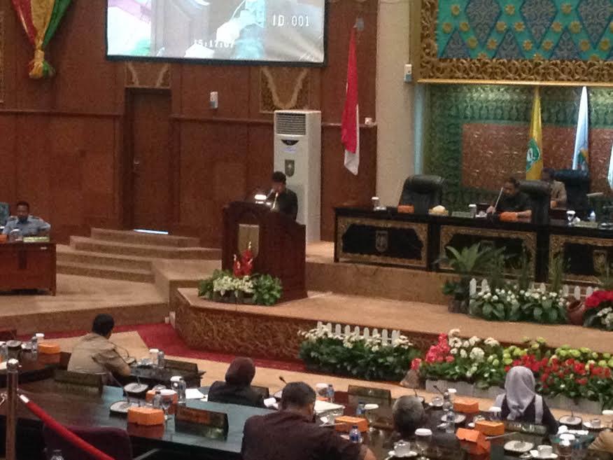 Hak Angket Dana Eskalasi, Lima Fraksi DPRD Riau Sepakat Bentuk Pansus