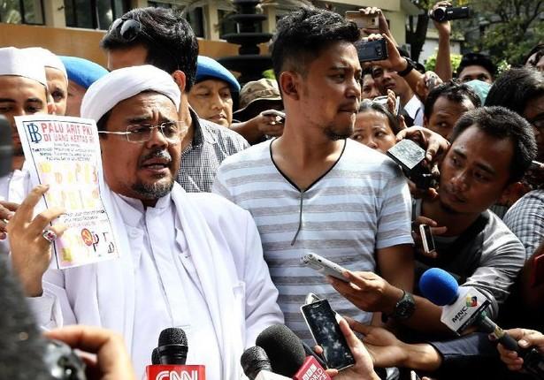 Tiba di Polda Jabar, Habib Rizieq: Alhamdulillah Sehat