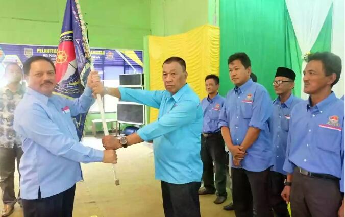 Ranting HNSI Tanah Merah Terbentuk, Ketua DPC HNSI Inhil Lantik Belasan Fungsionaris