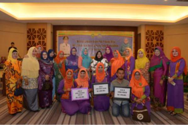 PKK Bengkalis Boyong 3 Penghargaan