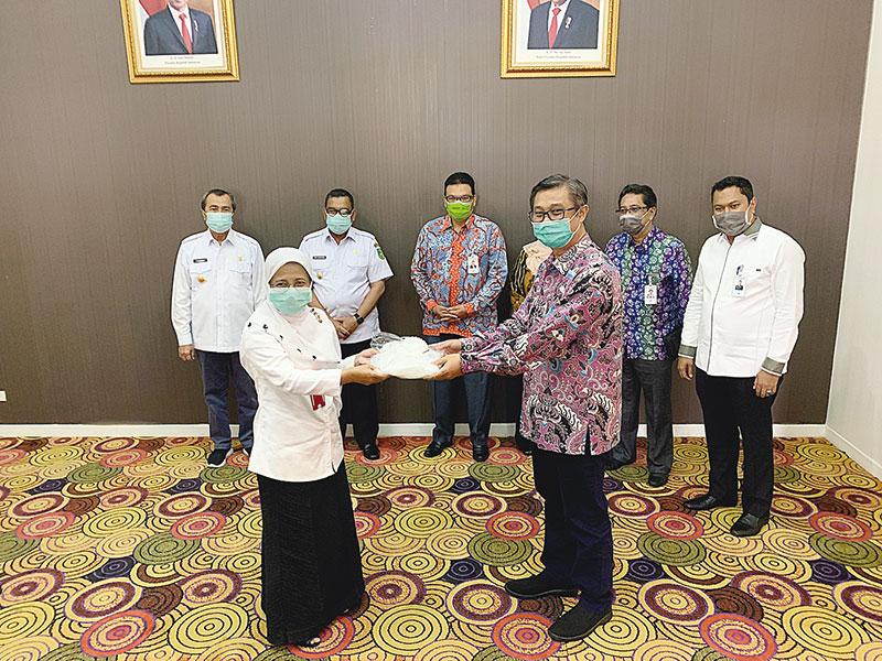 HUT Ke-54, Bank Riau Kepri Ikut Lawan Covid-19