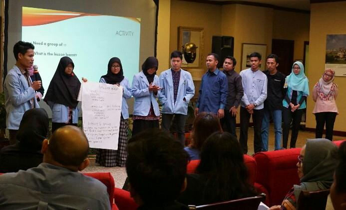 Mahasiswa FKIP UNRI Gelar Uji Kemampuan Bahasa Inggris