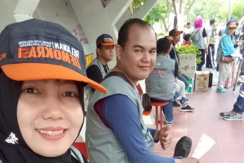 Puluhan disabilitas jadi penyelenggara Pemilu 2019 di Riau