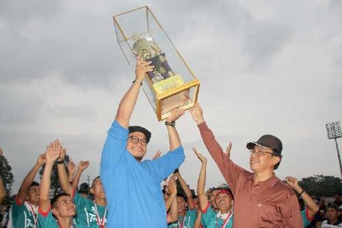 PS Tembilahan Hulu Juara 1 Bupati Cup