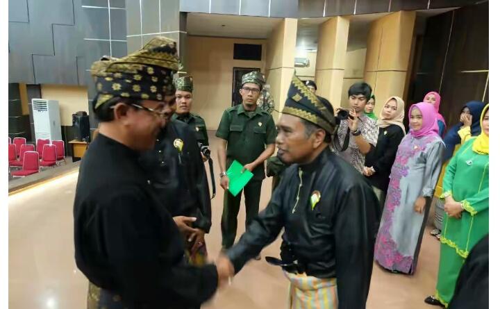 Pelantikan DPD LMR Inhil, Bupati: 'Tak Kan Melayu Hilang Di Bumi, Bumi Bertuah Negeri Beradat'