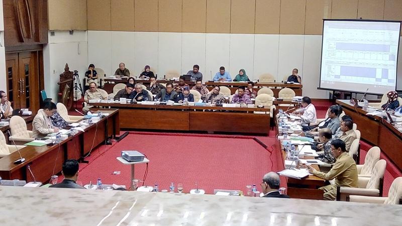 DPR dan Pemerintah Rapat Bahas 5 Isu Krusial RUU Pemilu