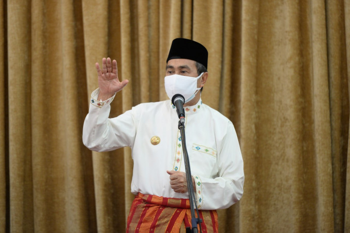 Gubri Koordinasi dengan Kakanwil Kemenkumham Riau