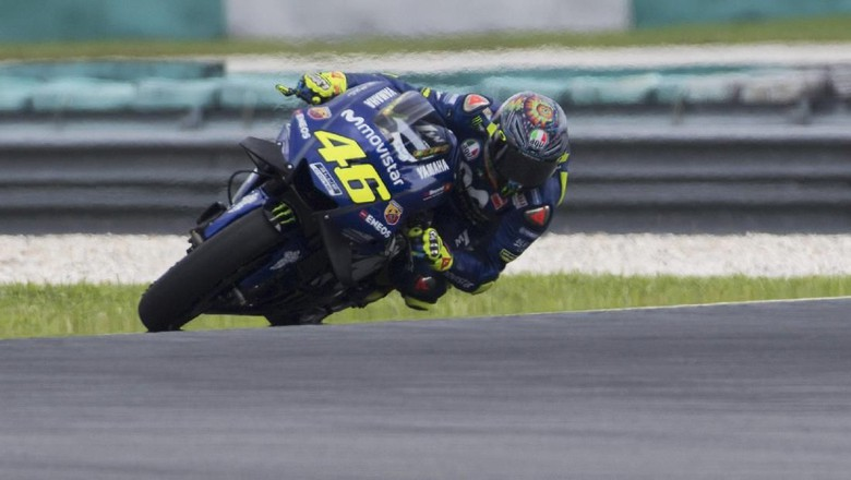 Rossi :Inkonsistensi Hasil Tes Bikin Yamaha Khawatir