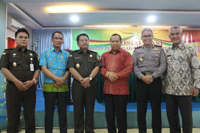 Libatkan Kejati Riau, Pemkab Meranti Gelar Sosialisasi Pencegahan Tipikor