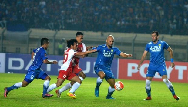 Kalahkan Persela, Persib Juara Grup C Piala Presiden