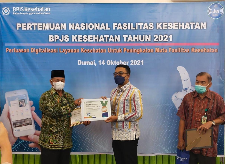 RSUD Siak Kembali Raih Penghargaan Dari BPJS Kesehatan