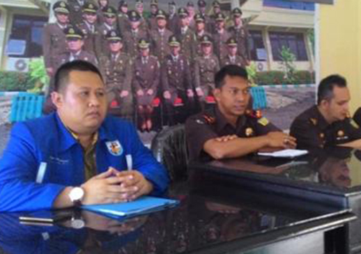 Merasa Tak Terima Bantuan, KNPI Lapor Duguaan Korupsi Bansos ke Kejari