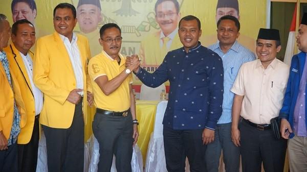 Ketua DPC Demokrat Rohul Kelmi Amri Ajak Partai Golkar Berkoalisi