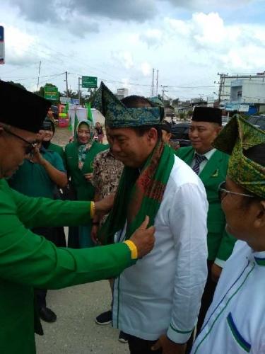 Firdaus - Rusli Hadiri Pelantikan PPP Rohil
