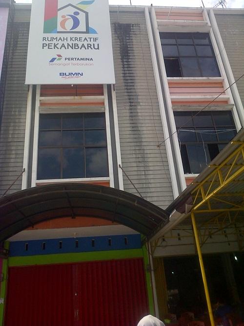 Rumah Kreatif BUMN di Pekanbaru.