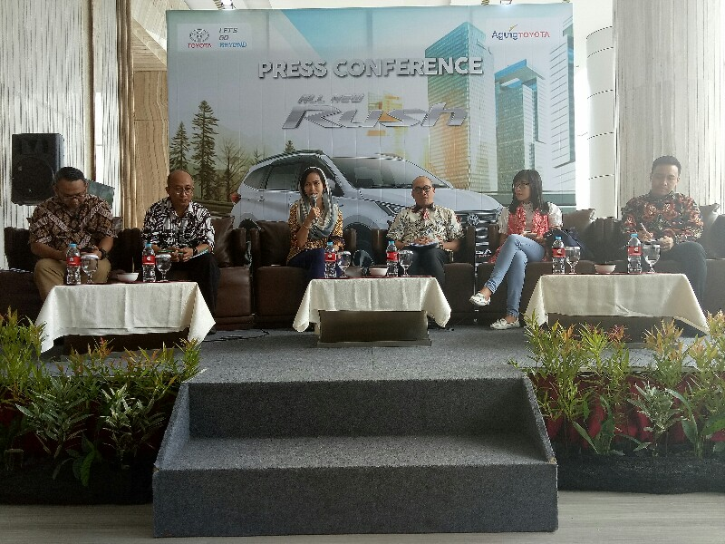 Agung Toyota Luncurkan All New Rush