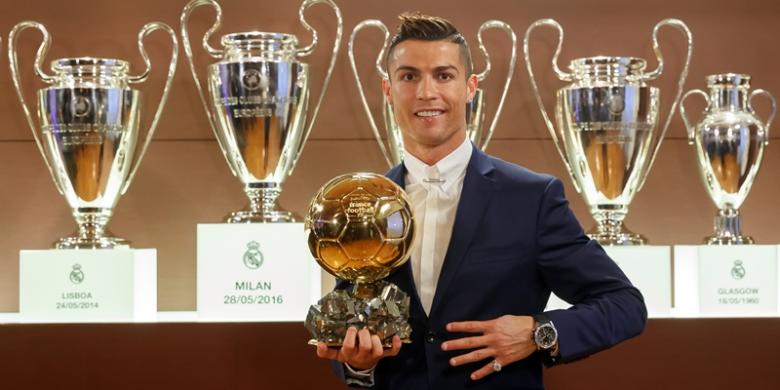 Ronaldo Jadi Pemain Terbaik Dunia 2016 versi FIFA?