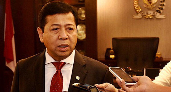 Novanto Tak Ajukan Praperadilan