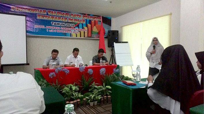Status Ketahanan Pangan di Provinsi Riau
