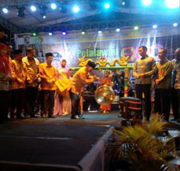 Pelalawan Expo 2016 Resmi di Buka Bupati Pelalawan HM.Harris