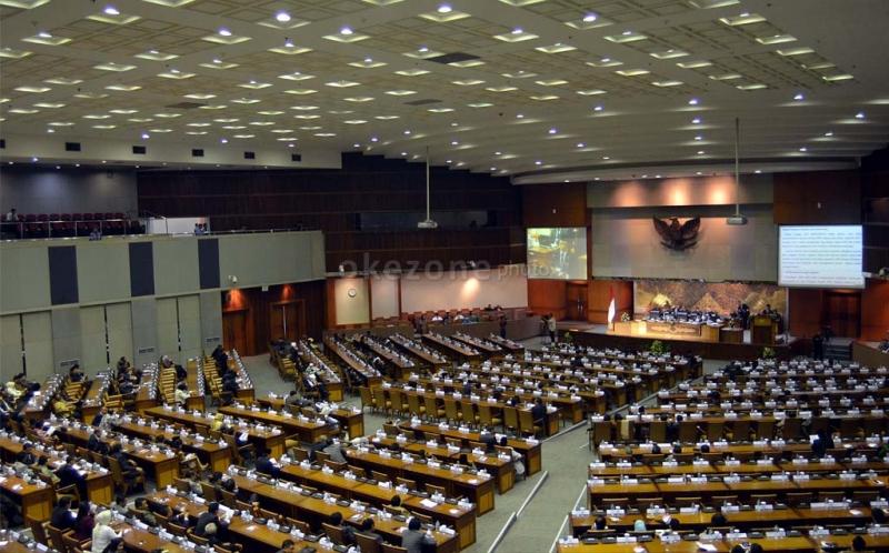DPR Gelar Paripurna Soal Hak Angket