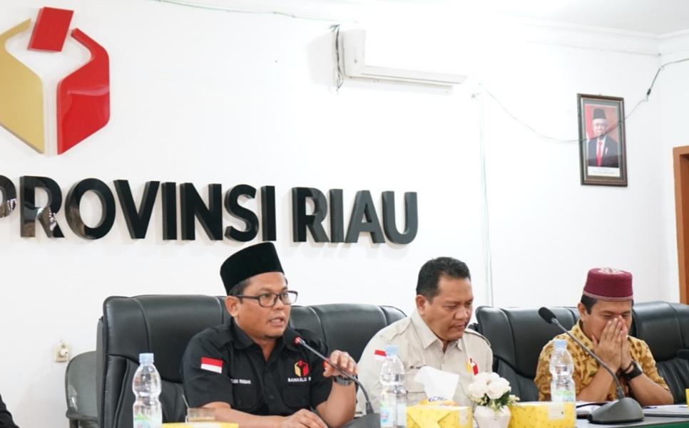 Bawaslu Riau Sanding Lima Kabupaten Siapkan Keterangan Jelang SidangMK