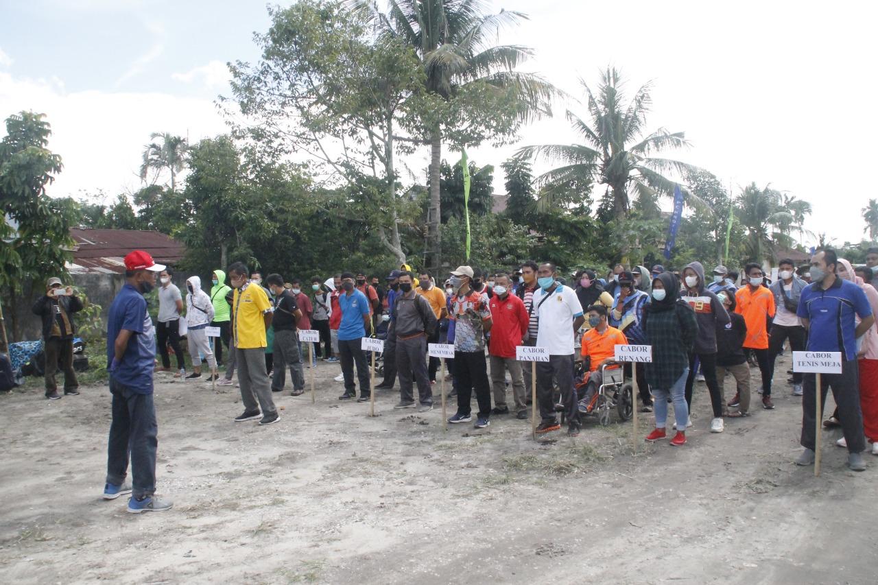 Jelang Peparnas Papua, Atlet NPC Riau Ikuti Pemusatan Latihan