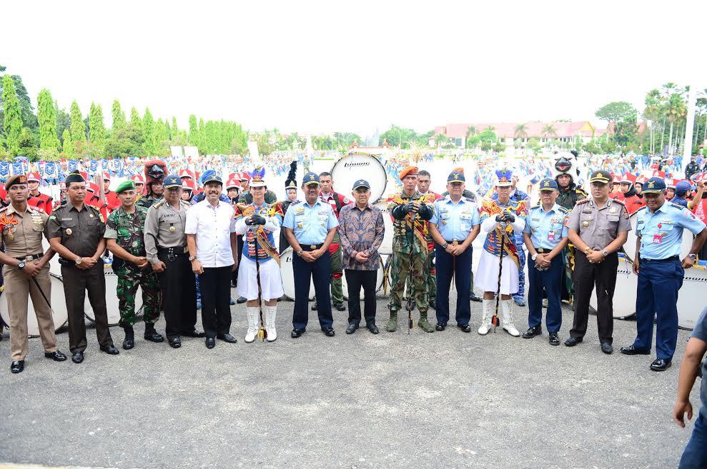 Gubri Saksikan Repling Personel Yonko 462 Paskhas