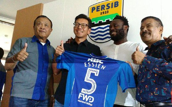 Persib Resmi Rekrut Michael Essien