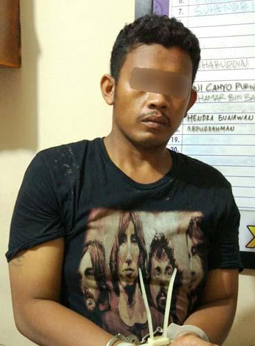Tak Jera, Pelaku Jambret di Inhil Kembali Ditangkap Polisi