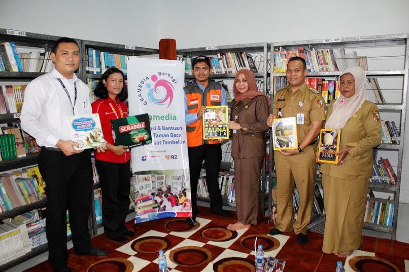Gramedia dan Rumah Zakat Bantu Badan Perpustakaan dan Arsip Pekanbaru