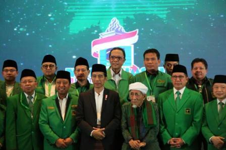 Bupati Kampar Hadiri Mukernas II PPP di Jakarta
