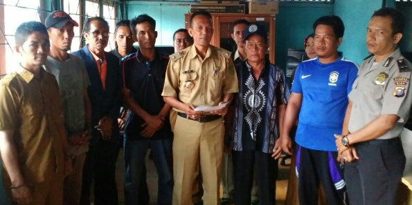 Deklarasi Anti Hoax, Komitmen Masyarakat Desa Perigi Raja Jaga Keamanan Dan Ketertiban
