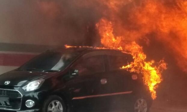 Kebakaran di Tembilahan Hanguskan 8 Unit Rumah dan 1 Unit Mobil