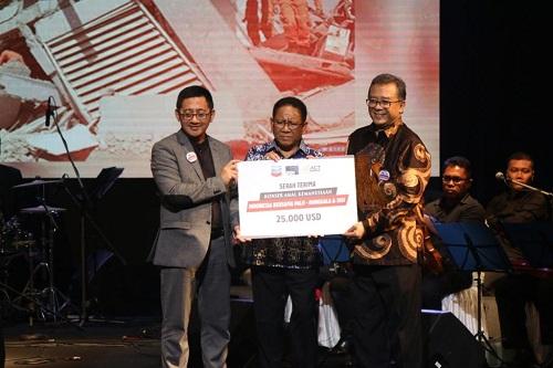 Chevron Kontribusikan US$ 562.500, untuk Lombok, Palu dan Donggala