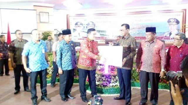 Bank Riau Kepri Serahkan Bantuan untuk Rohil