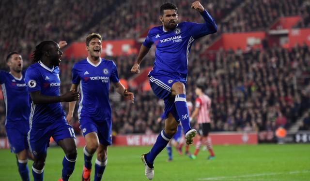 Chelsea sukses menumbangkan Middlesbrough dengan skor 3-0