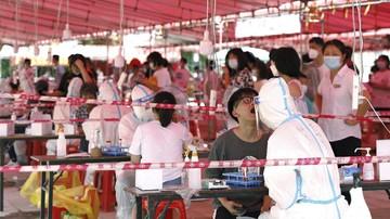 Ribuan Warga Wuhan China Ikuti Tes Darah