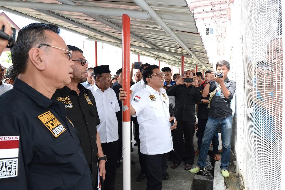 Komisi III DPR RI Pimpin Rapat Tertutup di Sialang Bungkuk Riau
