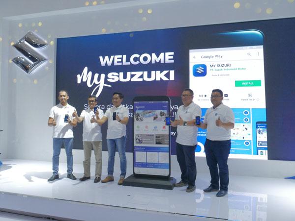 Suzuki Memperkenalkan Aplikasi My Suzuki sebagai Penyempurnaan Layanan Purnajual