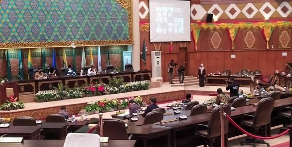 Enam Anggota DPRD Riau Sampaikan Salam Perpisahan Maju Pilkada 2020