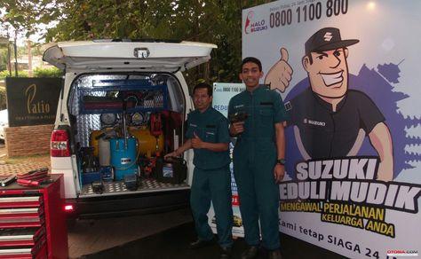 """Suzuki Peduli Mudik 2017, Siaga Melayani Anda"""